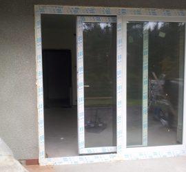drzwi przesuwne pcv