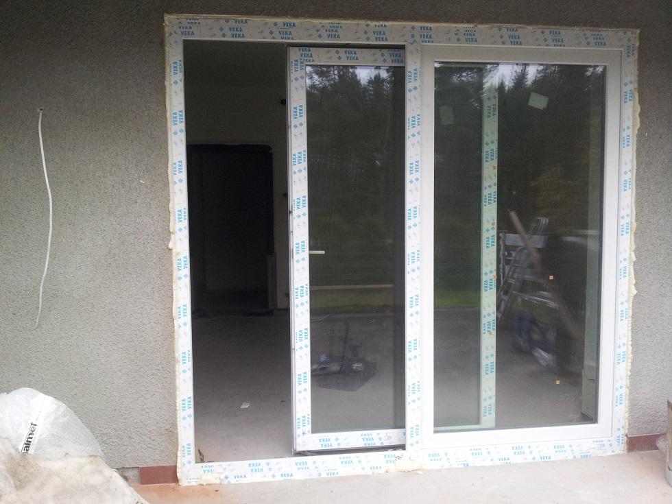 Drzwi Przesuwne Pcv Dako Profil Słupsk Montaż Sprzedaż
