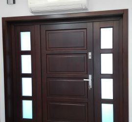 drzwi zewnętrzne drewniane Słupsk