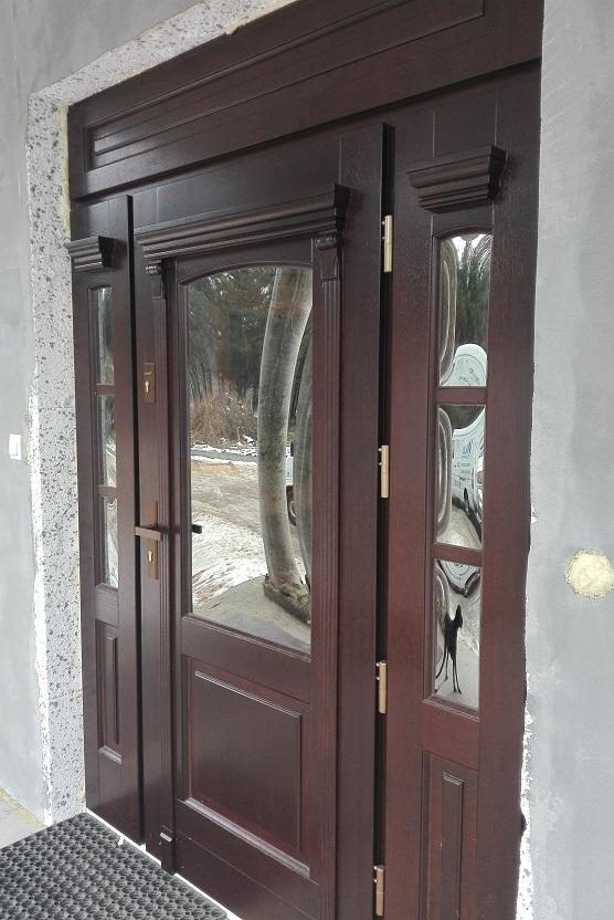 drzwi wejściowe z montażem koło słupska